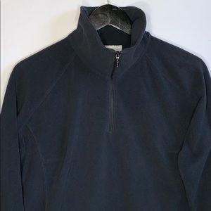 Columbia Women's Black Fleece Pullover Sweater
